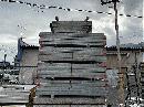 中古 ハイテン鋼管 60角 1.5m