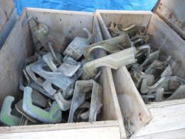 中古 単管用ネガラミクランプ 型枠金物