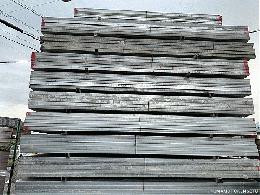 中古 ハイテン鋼管 60角 4m