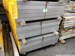 新品 アルミ鋼管1m