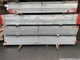 中古 ハイテン鋼管 60角 2.5m