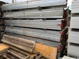 中古 ハイテン鋼管 60角 3m