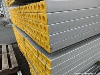 新品 アルミ鋼管 60角用 4m